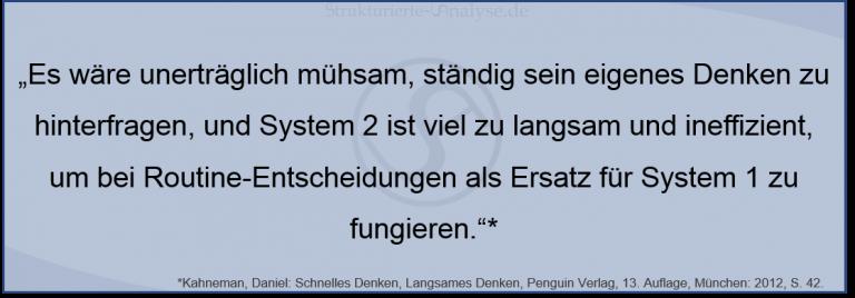 Daniel Kahneman_Zusammenspiel_System1undSystem2